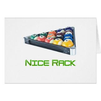 Verde de NiceRack Tarjeta
