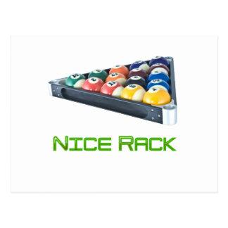 Verde de NiceRack Tarjetas Postales