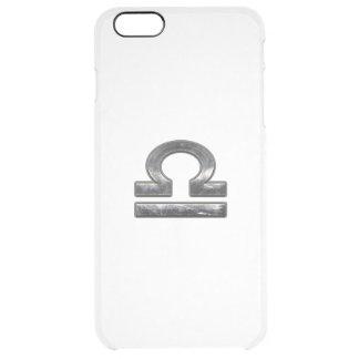 Verde de plata Digital Camo del zodiaco del libra Funda Clearly™ Deflector Para iPhone 6 Plus De Unc