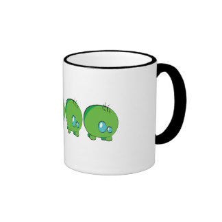 Verde de Pogo O.o taza del campanero de 325 ml