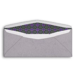 Verde de Quatrefoils en púrpura