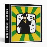 Verde de recepción graduado y oro del diploma (2)