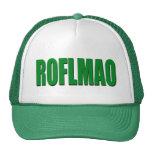 Verde de ROFLMAO Gorras De Camionero