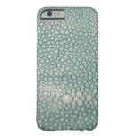 Verde de Shagreen Seafoam Funda De iPhone 6 Barely There