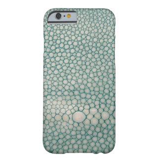 Verde de Shagreen Seafoam Funda Para iPhone 6 Barely There