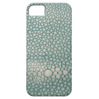 Verde de Shagreen Seafoam iPhone 5 Carcasa