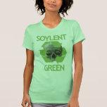 Verde de Soylent Playera