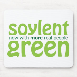 Verde de Soylent Tapete De Ratones