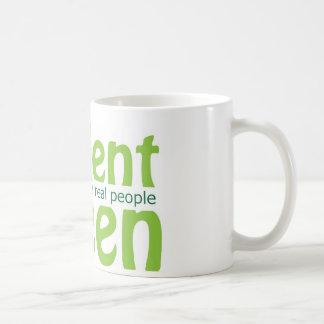 Verde de Soylent Tazas De Café