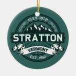 """Verde de Stratton """"Vermont """" Ornamentos De Navidad"""