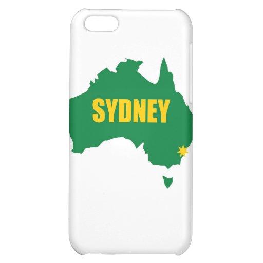 Verde de Sydney y mapa del oro