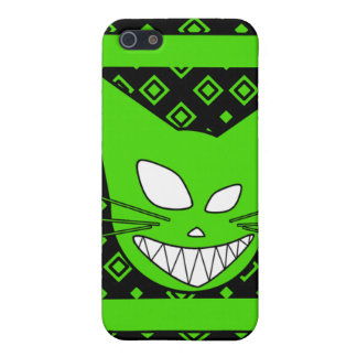 Verde de Techi Kitteh iPhone 5 Fundas
