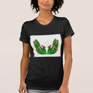 Verde de Threme - flores exóticas del CACTUS Camisetas