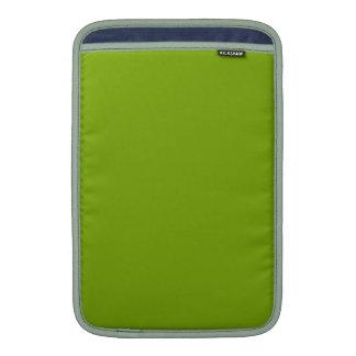 ~ VERDE (de un color con sabor a fruta sólido) Funda Macbook Air
