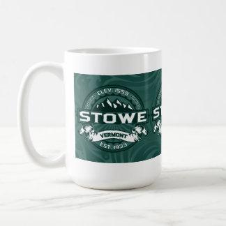 Verde de Vermont de la taza de Stowe
