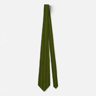 Verde de YarnIt Corbata Personalizada