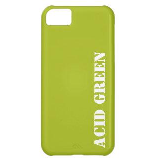 Verde del ácido