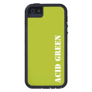 Verde del ácido iPhone 5 carcasa