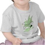 Verde del aguacate de Gryphon Camiseta