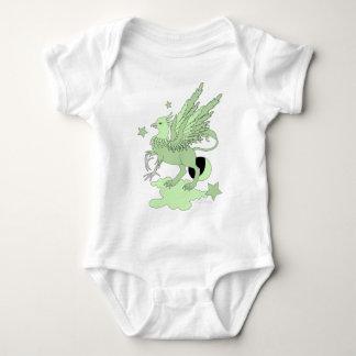Verde del aguacate de Gryphon Remera