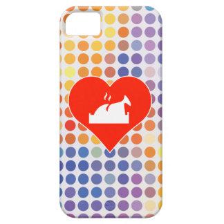 Verde del amor iPhone 5 carcasa