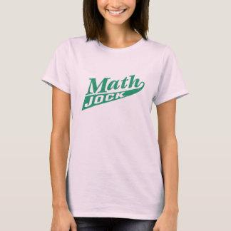 Verde del atleta de la matemáticas playera