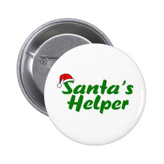 Verde del ayudante de Santas Pin