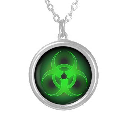 Verde del Biohazard Joyerias Personalizadas