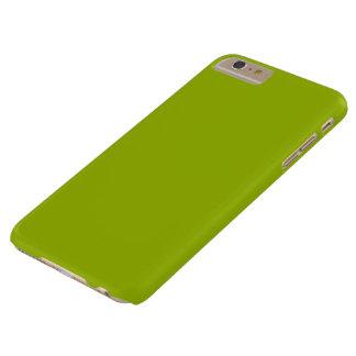 Verde del Booger coloreado Funda Para iPhone 6 Plus Barely There