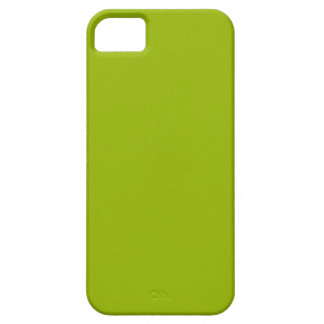 Verde del Booger coloreado iPhone 5 Carcasas