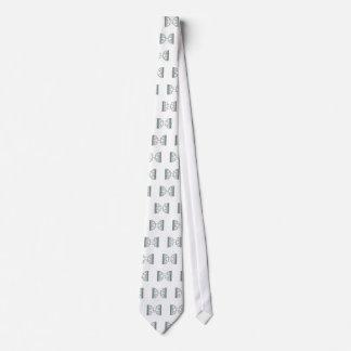 verde del bracketology corbata personalizada