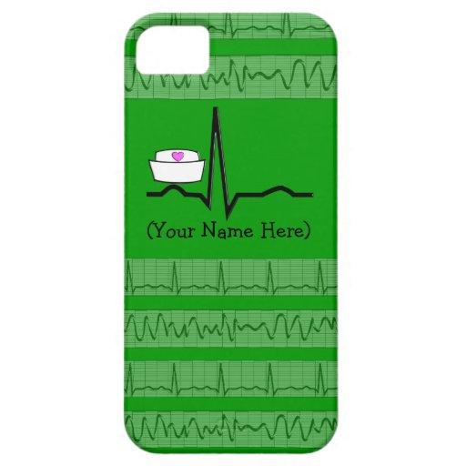 Verde del caso de Barely There del iPhone 5 del iPhone 5 Coberturas
