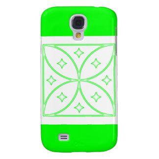 Verde del caso de Iphone 3 de las estrellas de la