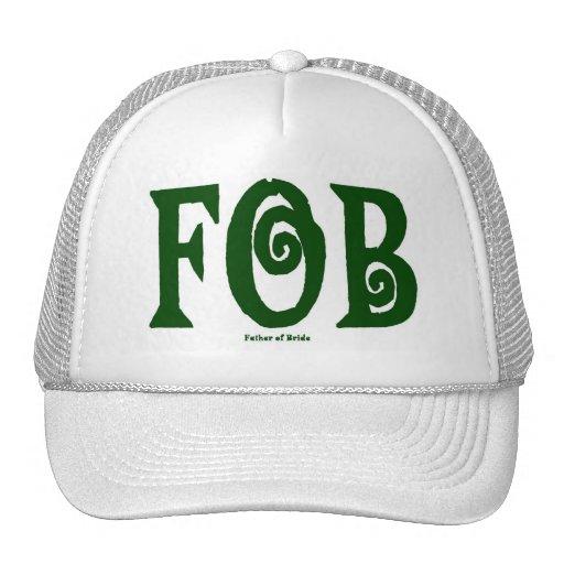 Verde del casquillo del MANDO (padre de la novia) Gorras De Camionero
