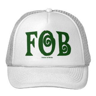 Verde del casquillo del MANDO (padre de la novia) Gorras