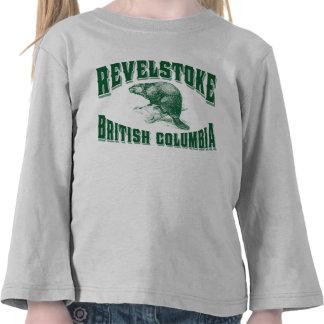 Verde del castor de Revelstoke Camisetas