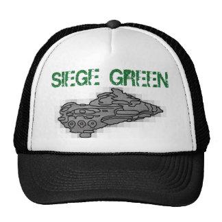 Verde del cerco de Eve Moros Dreadnought Gorros Bordados