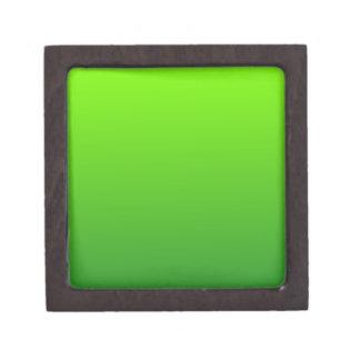 Verde del césped a la pendiente horizontal de Fore Cajas De Joyas De Calidad