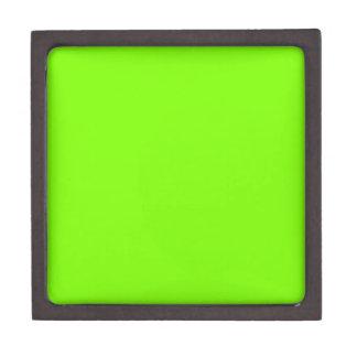 Verde del césped caja de joyas de calidad