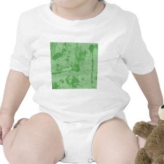 verde del chapoteo traje de bebé