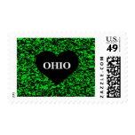 Verde del corazón de Ohio Sello