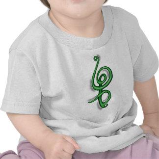 Verde del de Hakuna Matata Camisetas