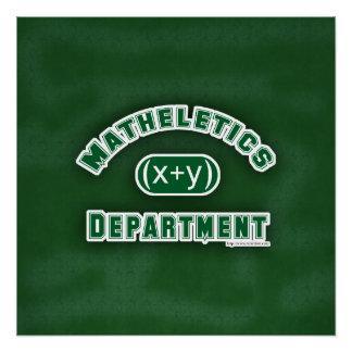 Verde del departamento de Mathletics Perfect Poster