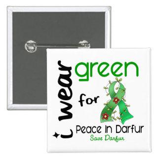 VERDE del DESGASTE de Darfur I PARA la PAZ 43 Pin