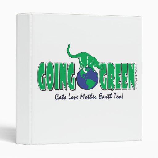 Verde del Día de la Tierra Cats/go