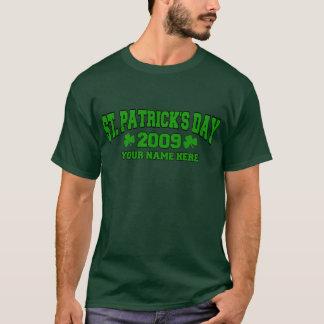 Verde del día de St Patrick Playera