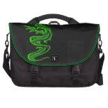 Verde del dragón bolsas de portatil