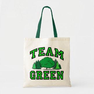 Verde del equipo bolsa de mano