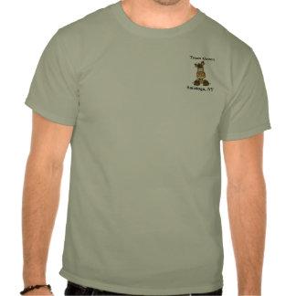 Verde del equipo camiseta