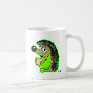 verde del erizo taza
